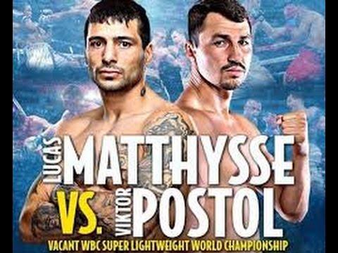 Matthysse vs Postol Kicks Off WBC - VADA Anti-Doping Testing Program ! Why Not Mayweather vs Berto ?