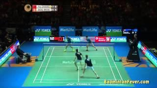 Badminton Highlights - All England Open 2015 MD Finals