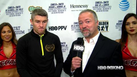 HBO Boxing News: Liam Smith Interview (HBO Boxing)