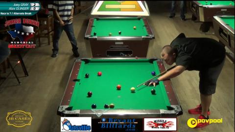 #7 • Alex OLINGER vs Joey GRAY • 2017 Junior Norris 10-Ball