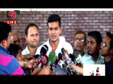 Bangla Cricket News,Taskin Arrived in Dhaka & Talking About Suspended Bowling Action in T20 Worldcup