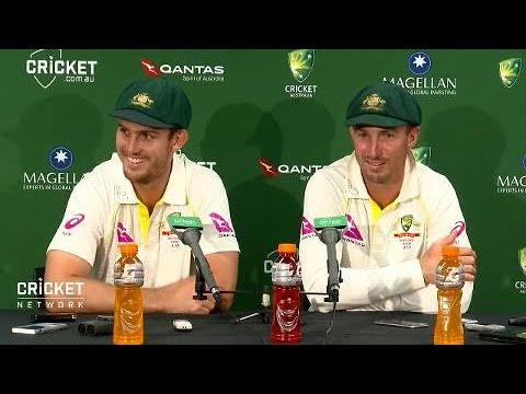 Marsh brothers all smiles after memorable day