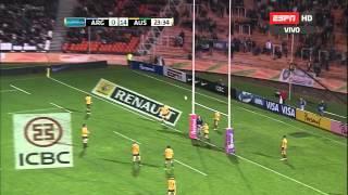 Rugby Championship  Argentina Vs Australia  Primer Tiempo HD
