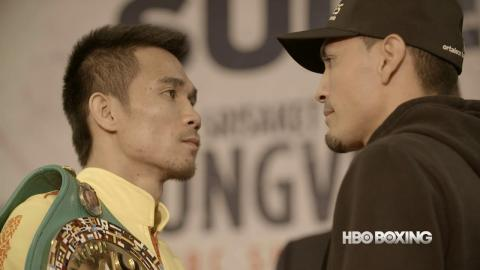Sor Rungvisai vs. Estrada Press Conference Recap (HBO Boxing News)