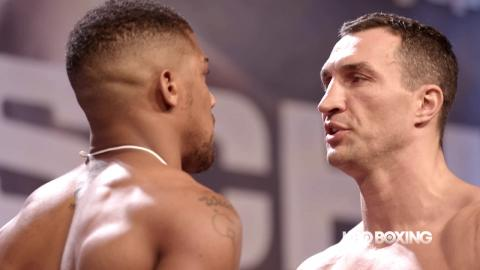 HBO Boxing News: Joshua vs. Klitschko Weigh-In Recap