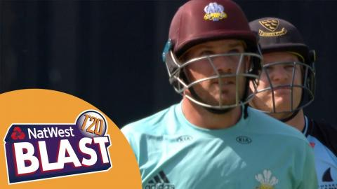 Magnificent Finch Hits 114 In Surrey Win - NatWest T20 Blast 2017