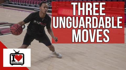 3 UNGUARDABLE Basketball Moves That Are EASY To Use!