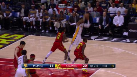 Paul George Drops 34 points vs Atlanta Hawks In Pacers Win