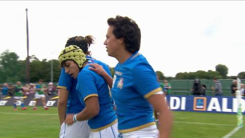 HIGHLIGHTS: England beat Italy 56 - 13 at Women's Rugby World Cup