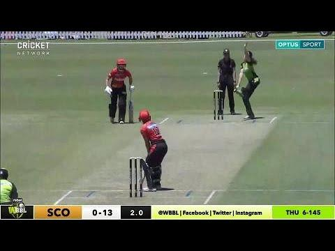 Perth Scorchers v Sydney Thunder, WBBL|03