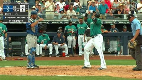KC@SEA: Cruz blasts home run to left field