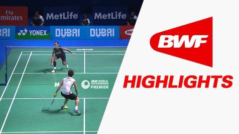 Dubai World Superseries Finals 2015 | Badminton SF – Highlights