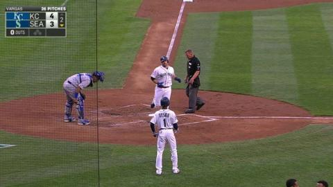 KC@SEA: Zunino hammers a solo homer to left field