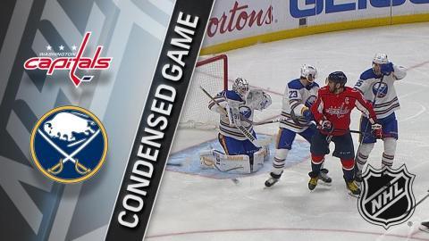 02/19/18 Condensed Game: Capitals @ Sabres