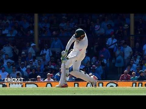Fifth Test: Australia v England, day two