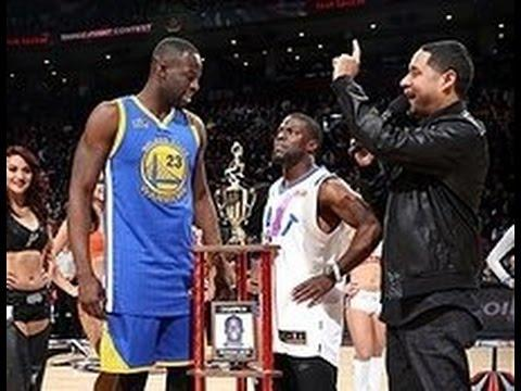 Kevin Hart and Draymond Green Shootout in Toronto