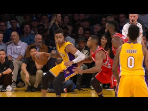 Russell and Clarkson Combine for 45 in Lakers Win