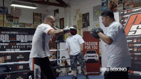 Alexander Brand on his Amateur Boxing Career (HBO Boxing)