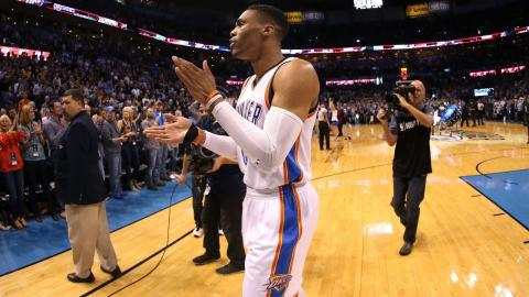 Russell Westbrook With His 39th Triple Double of the Season! | March 31, 2017