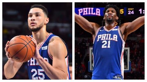 Ben Simmons (19/13/9) and Joel Embiid (21/12/6) Lead Sixers Past Hawks | November 1, 2017