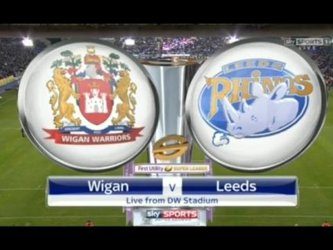 Wigan Warriors vs Leeds Rhinos full match 11.03.2016 English Super League rugby 2016 Round 5