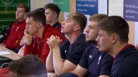 Camp Preview: behind the scenes at the Wales U20s camp