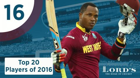 16) Marlon Samuels | Lord's Top 20 Players of 2016