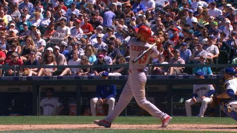 STL@SEA: Carpenter homers twice, triples vs. Mariners