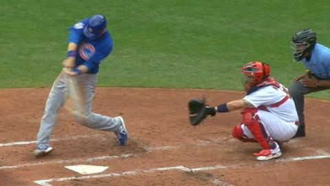 CHC@STL: Cubs break out for six runs in the 2nd