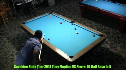 Sunshine State Tour 2018 Anthony Meglino VS Pierre Palmieri Race to 7