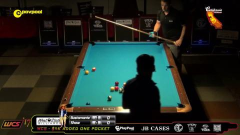 #4 • (PT 1) Francisco BUSTAMANTE vs Jayson SHAW / 2017 WCC One Pocket