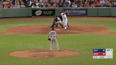 Hanley's second homer gives Red Sox 5-4 lead