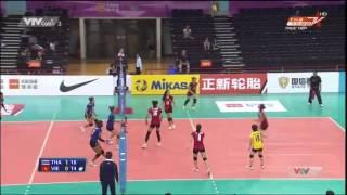 AVC Asian Women Volleyball Championship 2014 [Semi-Finals]:Viet Nam Vs Thailand