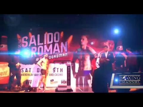 SALIDO VS ROMAN WEIGH INS HIGHLIGHTS