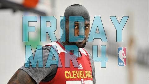 NBA Daily Show: Mar. 4 - The Starters
