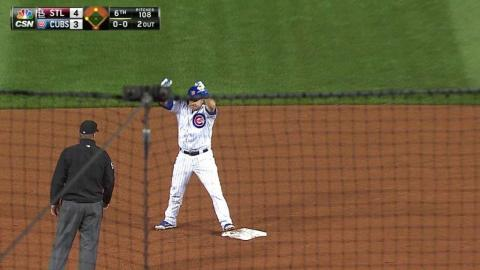 STL@CHC: Montero clears the bases with a double