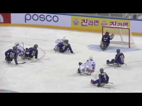 2017 Sled Worlds Highlights: USA vs. SWE