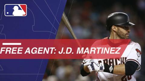 J.D. Martinez a top free agent on the market