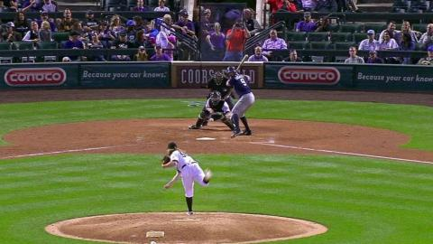 SD@COL: Gray's 15th strikeout sets franchise record