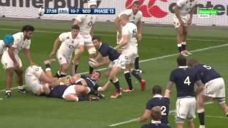 Rugby Union Six Nations 2015 Round 4 England Vs Scotland Full Match HD