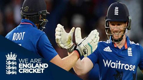 ODI Flashback - Morgan Hits Century In England's Highest Ever Run Chase v New Zealand 2015