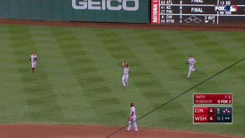 CIN@WSH: Smith induces popup, leaves bases loaded