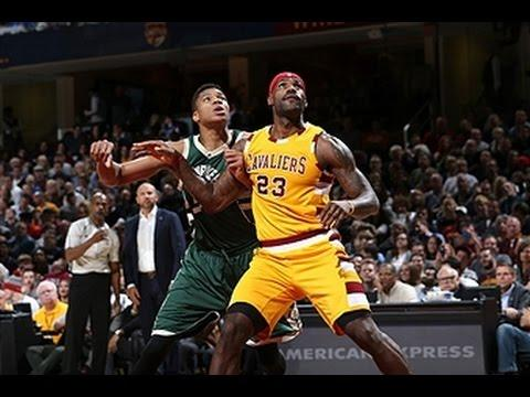 LeBron James, Giannis Antetokounmpo Duel in Cleveland