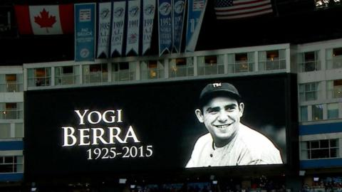 Yogi Berra's life and career celebrated around MLB