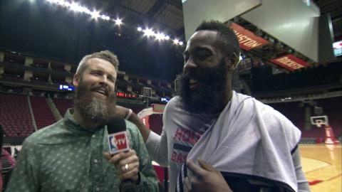 James Harden: The Definitive Beard Interview
