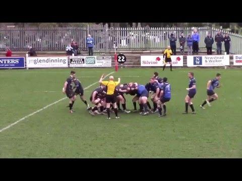 Samsung Try of the Month entry - Otley Rugby Club