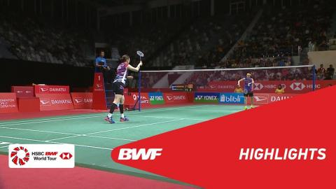 DAIHATSU Indonesia Masters 2018 | Badminton WS - QF - Highlights | BWF 2018