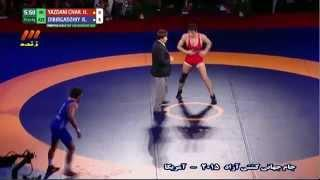 Iran Vs Azerbaijan - 2015 Wrestling Freestyle World Cup In Los Angeles (HD) (Full)