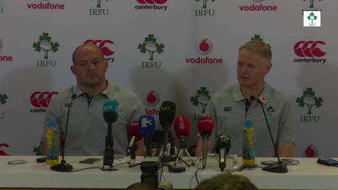 Irish Rugby TV: Schmidt & Best On South Africa Tour