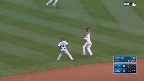 CHC@LAD: Stripling earns the three-inning save